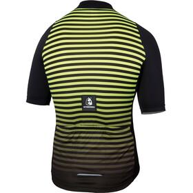 Etxeondo Maillot M/C Geo S/S Jersey Men Black/Yellow Fluor